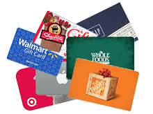 Gift Cards Discount Rates