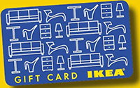 Ikea Gift Cards